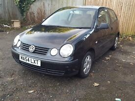 2004 Volkswagen Polo 1.4 Petrol Automatic Auto.Long MOT,gret runner, good condition.black