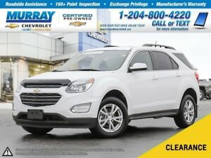 2017 Chevrolet Equinox LT w/1LT *Rear View Camera, All Wheel Dri