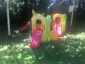 X 2 little tyke 8 in 1 playground . Original price is £1000 selling for bargain of £350