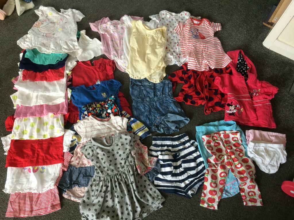 Girls Clothes Bundle 9-12 months