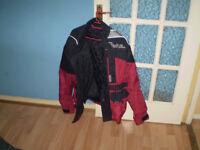 swap motor bike jacket for mobile phone