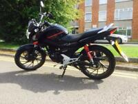 Honda CB125F - practically new