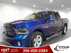 2015 Ram 1500 Sport|Crew Cab|Nav|Cam|Leather|Sunroof
