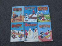 Beezer Annuals x 6