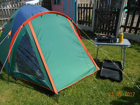 torino 2 man festival tent & extras