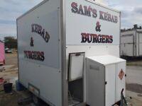 Catering trailer lpg equipment burger van kebab fryer bain Marie