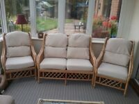 Conservatory furniture set - settee and 2 chairs