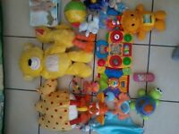 *** Baby girl clothes + toys + bouncer + Leap Pad & more!! ***