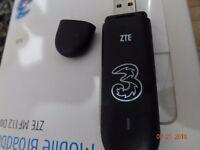 Sim free Like New- 3 Broadband Dongle MF112