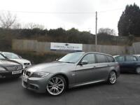BMW 3 SERIES 2.0 320D M SPORT BUSINESS EDITION TOURING 5d AUTO 181 BHP business edtion with sat nav