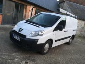 Peugeot expert HDI turbo diesel van with new mot 3 seater ready for work px available