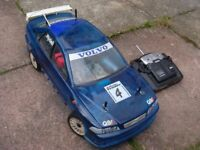RC Nitro Car - Kyosho GP Landmax 4WD.