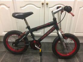 """Boy's bicycle. Boy's bike. 14"""" wheels."""