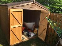 HEAVY DUTY 'STORM' Shed 12X8 Cost £1400!!!