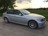 BMW 3 SERIES 320d 2007 AUTO + LEATHER + SATNAV + IDRIVE + LADY OWNER