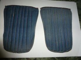 Pair of vintage shin pads