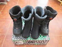 K2 Thraxis Triple Boa - Mens - Black - UK Size 10.5
