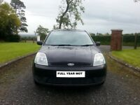 2003 FORD FIESTA 1.3 PETROL FULL YEAR MOT EXCELLENT CONDITION
