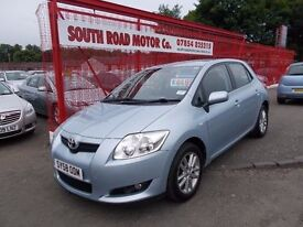 *TOYOTA AURIS D-4D 2.0*DIESEL*IMMACULATE*FULL SERVICE HISTORY*1 FORMER KEEPER*YEARS MOT*ONLY £4495*