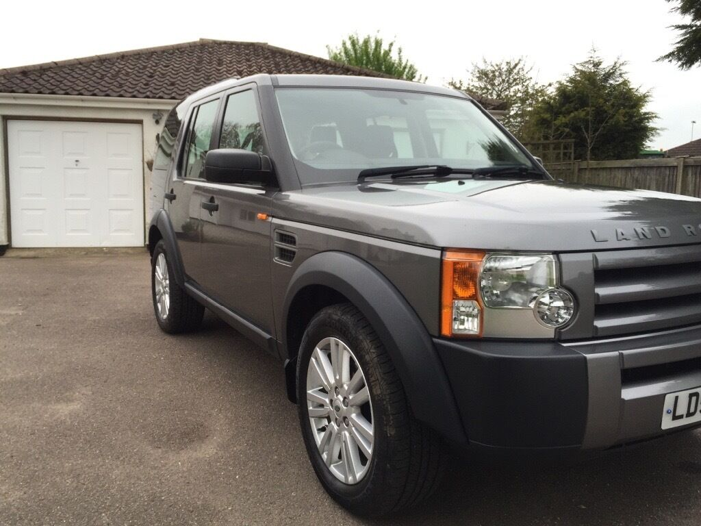 Grey Suv 2008 Land Rover Discovery 2.7 diesel tdv6 gs 7 seater auto, full service history