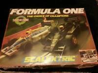 Scalextric f1 Silverstone Rare nigel mansel set