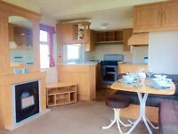 static caravan for sale near the sea in newquay cornwall. must sell all fees included.
