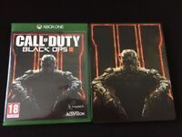 Call of Duty Black Ops 3 (Xbox One) with limited edition Steelbook