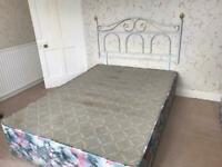 Free Double Bed and Headboard