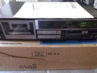 Sony TC-FX320 stereo cassette deck - excellent condition with manual, packaging plus new belt