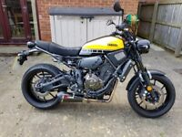 Yamaha XSR700 ABS Anniversary - Low Mileage, Scorpion Exhaust, Excellent Condition
