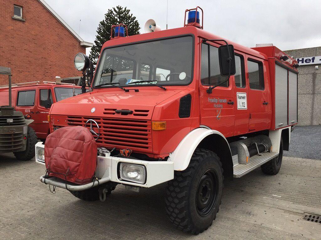 unimog u1300l 37 ex fire engine camper motorhome expedition 7 5t uk reg hgv no vat in hexham. Black Bedroom Furniture Sets. Home Design Ideas