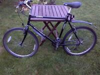large 21-gear man's Ridgeback mountain bike in very good condition
