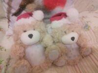 Girls ladies 3D Christmas slippers size 3 new cute