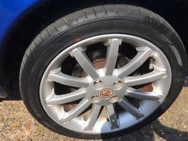 Mgf / TF 11 spoke, 16 inch alloy wheels