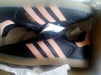 LADIES ADIDAS GAZELLES BRAND NEW IN BOX ONLY £30