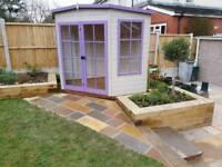 Garden maintenance and build
