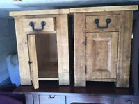 Bedroom side tables