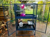 Savic Royal Rat/Ferret Cage For Sale with Accessories