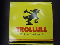 55 x Trolloll Oil Free Steel Wool
