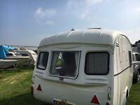 Vintage Cheltenham Caravan
