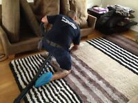 Professional carpet and upholstery cleaning in Clapham, London.