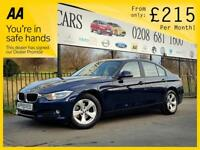 BMW 3 SERIES 2.0 320D EFFICIENTDYNAMICS 4d AUTO 161 BHP Apply for finance Online today! (blue) 2014