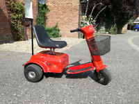 Paterson Trio single seat electric golf buggy