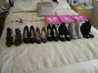 7 pairs of ladies shoes new