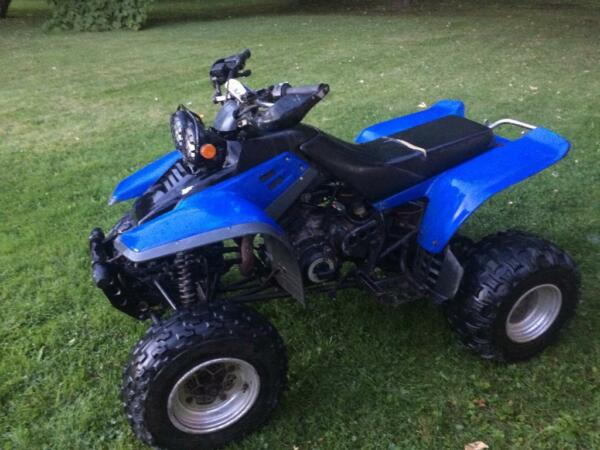 Used 1997 Yamaha Warrior