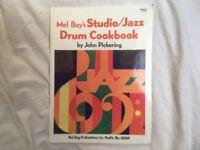 Mel Bay's Studio/Jazz Drum Cookbook - John Pickering
