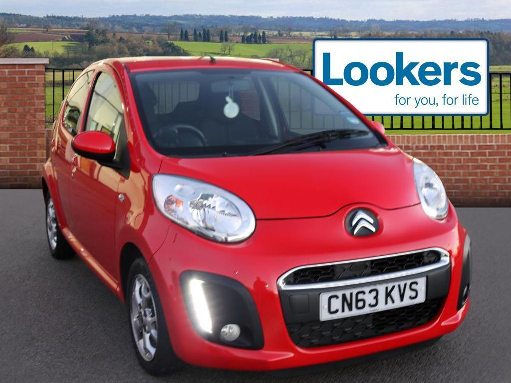 Citroen C1 VTR PLUS (red) 2013-09-30