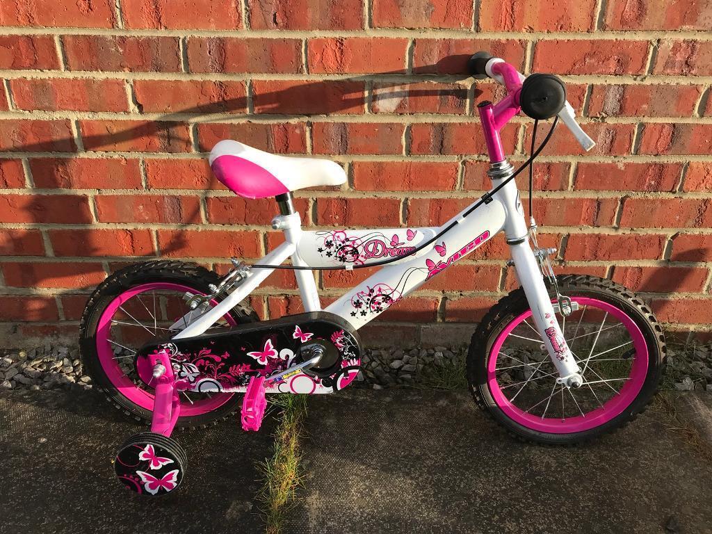 Girls bike, hardly used