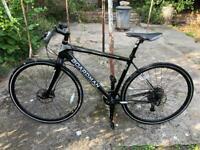 Boardman Pro hybrid road bike 49 CM medium carbon forks delivery available