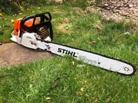 SOLD STIHLS 044C CHAINSAW RARE EXCELLENT CONDITION LIKE MS 440 - SOLD